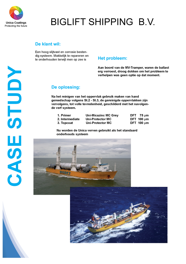 Case Study BigLift Shipping NL